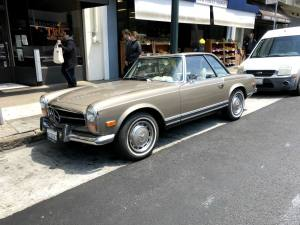 Classic Mercedes Pagoda SL in San Francisco