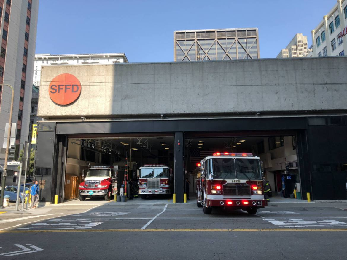 SFFD Fire Station 13 in the Financial District