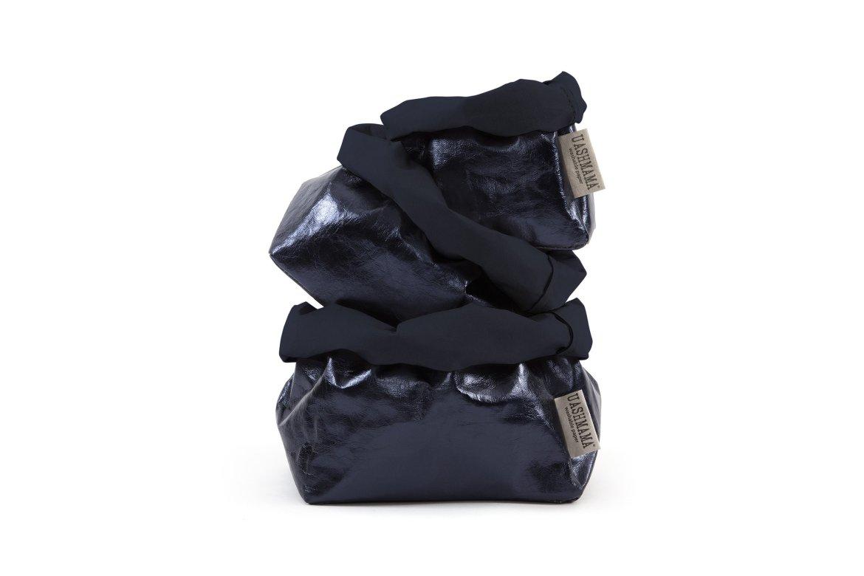 UASHMAMA Blue/Petrolio Metallic Paper Bags