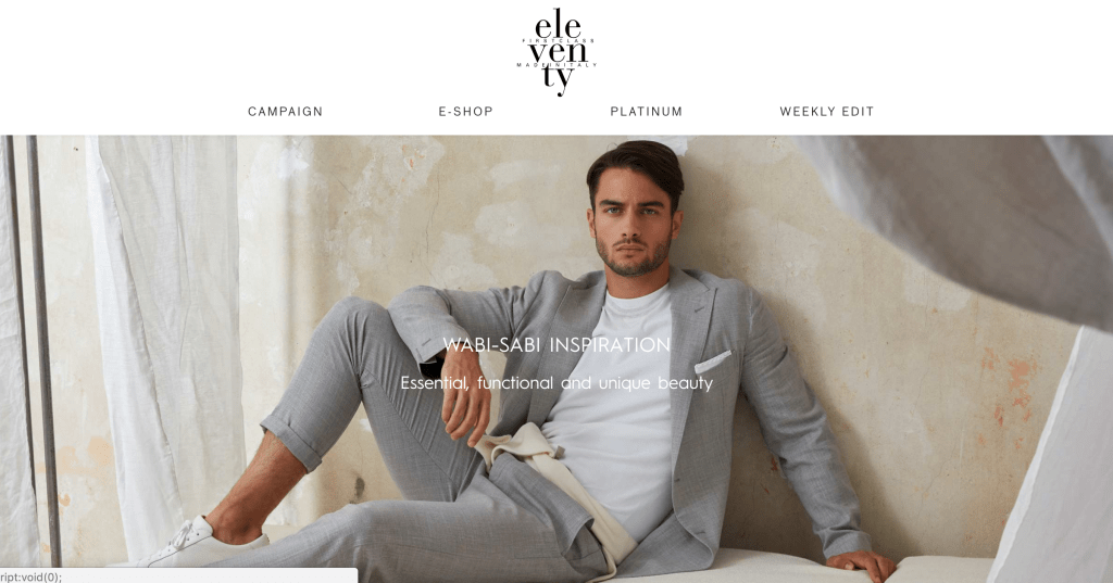 Eleventy First Class Made in Italy