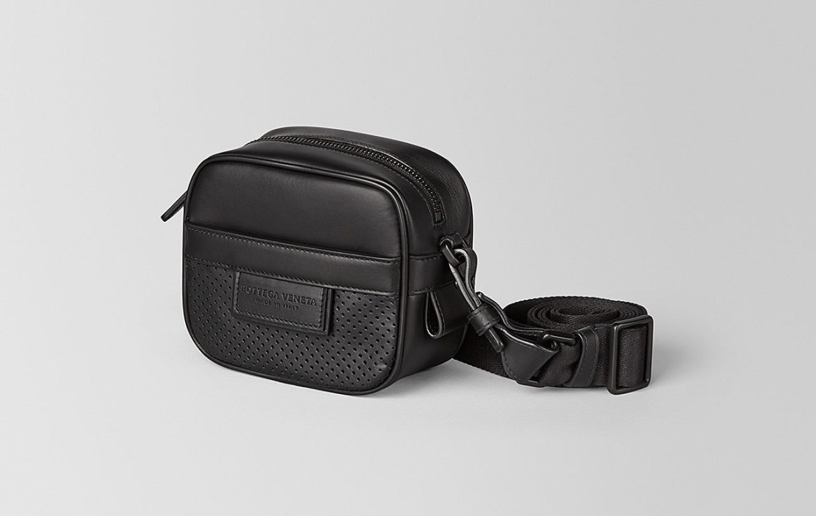 Bottega Veneta leggero calfskin wearable pouch