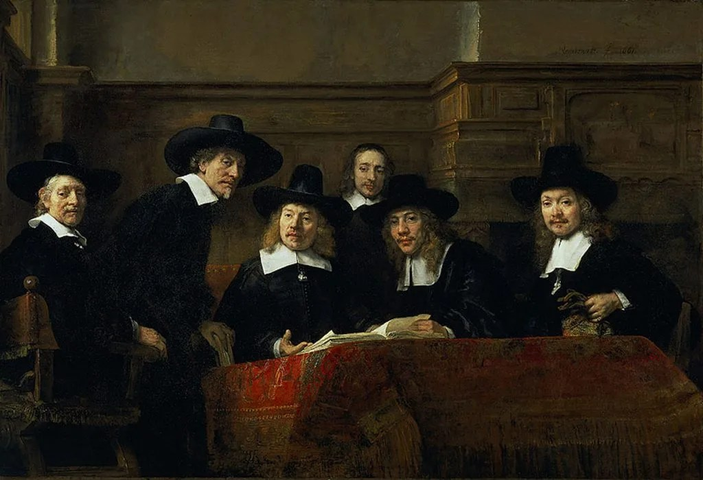 The Syndics Rembrandt Rijksmuseum Amsterdam Rembrandt House Museum