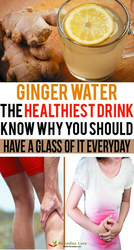 Ginger water- The healthiest drink (1)