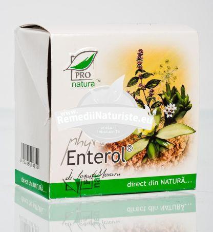 PHYTO ENTEROL 3.5gr MEDICA Tratament naturist diaree acuta si cronica colon iritabil balonare afectiuni gastrice