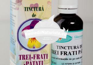 TINCTURA TREI FRATI PATATI 50ml SANTO RAPHAEL Tratament naturist alergii boli de piele rinite alergice astm bronsic