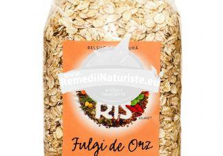 FULGI DE ORZ 500gr SOLARIS(punga) Tratament naturist aliment naturist pentru o dieta sanatoasa