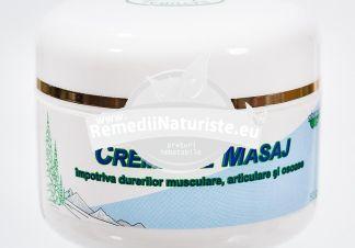 CREMA MASAJ 50gr ABEMAR MED Tratament naturist antiseptica antiinflamatoare calmanta antireumatica