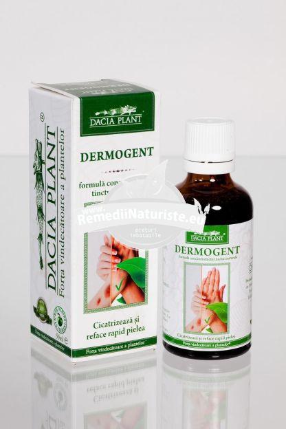 DERMOGENT 50ml DACIA PLANT Tratament naturist antiseptic cicatrizant regenerator regenerator