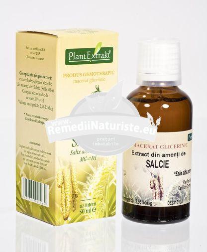 SALIX ALBA (AMENTI SALCIE)50ml PLANTMED Tratament naturist sindrom premenstrual tulburari de menopauza aparatul genital feminin menopauza