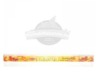 BETISOARE PATRATE LEMON ROSIMPEX Tratament naturist betisoare indiene pentru aromatizarea incaperilor aromatizarea incaperilor