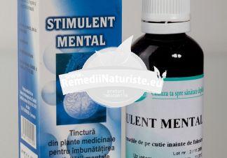 STIMULENT MENTAL 50ml SANTO RAPHAEL Tratament naturist tonic al sistemului nervos vasodilatator general astenie psihica oboseala cronica
