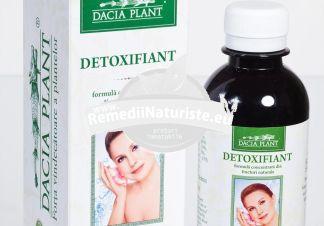 DETOXIFIANT 200ml DACIA PLANT Tratament naturist diuretic depurativ expectorant constipatie