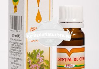 ULEI GERANIU 10ml FARES Tratament naturist arsuri stomacale gastroenterita cistita acnee