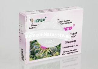 ARMUHEP 20CPS HOFIGAL Tratament naturist recomandat persoanelor supuse stresului detoxifiant antioxidant ficat