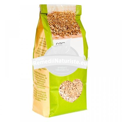 ORZ 500g LONGEVITA Tratament naturist aliment ecologic pentru o dieta sanatoasa diaree inflamatii emolient