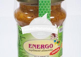 ENERGO-ENERGIN 400gr MIERE,POLEN,PROPOLIS JAJIN Tratament naturist deficienta de calciu afectiuni ale ficatului facetiuni ale ficatului