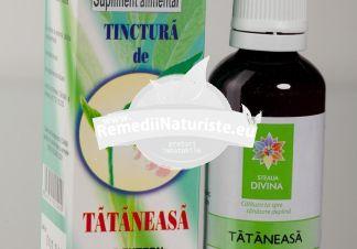 TINCTURA TATANEASA 50ml SANTO RAPHAEL Tratament naturist traumatisme entorse fracturi luxatii