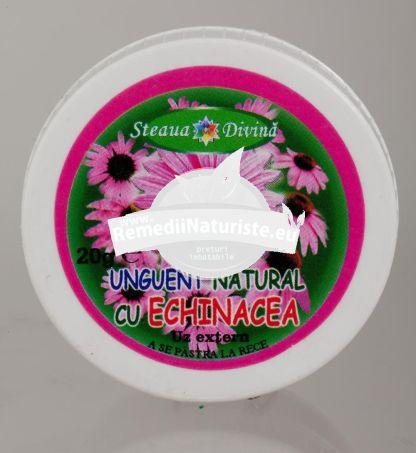 CREMA ECHINACEEA 20ml SANTO RAPHAEL Tratament naturist furuncule infectii ale pielii ulceratii ulceratii