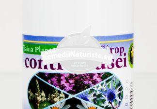 SIROP CONTRA TUSEI 250 ml HYPERICUM Tratament naturist calmarea tusei emolient expectorant gripa
