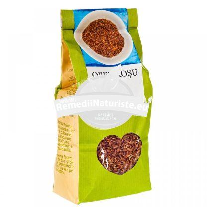 OREZ ROSU 500g LONGEVITA Tratament naturist aliment ecologic pentru o dieta sanatoasa gust de nuca usor de mestecat