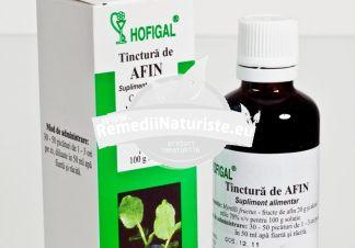 TINCTURA AFIN 50ml HOFIGAL Tratament naturist diabet edeme capilare infectii urinare guta