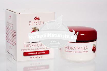 CREMA ZI CU MACESE 50ml COSMETIC PLANT Tratament naturist hidrateaza reimprospateaza hidratanta