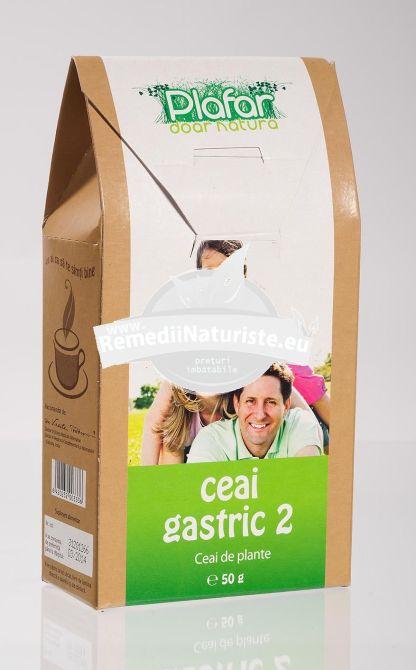 CEAI GASTRIC NR2 50gr PLAFAR Tratament naturist afectiuni gastro-intestinale hiperaciditate gastrica balonare