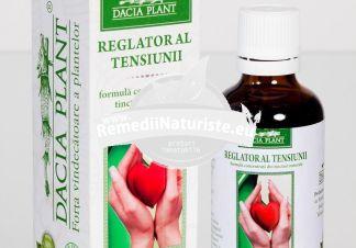 REGLATOR AL TENSIUNII 50ml DACIA PLANT Tratament naturist vasoprotector tonic cardiac hipertensiune arteriala tensiune arteriala oscilanta