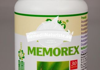 MEMOREX 30cps ROTTA NATURA Tratament naturist utilizat in cazul epuizarii surmenaj mareste capacitatea de memorare creste puterea de concentrare