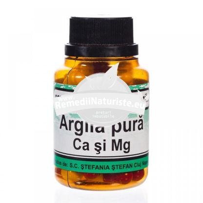 ARGILA CA&MG 36cps STEFANIA STEFAN Tratament naturist acnee gingivite ulcer gastric si duodenal obseala cronica