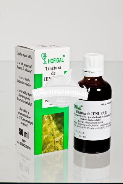 TINCTURA IENUPAR 50ml HOFIGAL Tratament naturist cure de dezintoxicare oligurie litiaza renala afectiuni ale tractului urinar inferior
