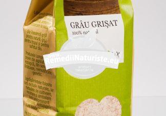 GRAU GRISAT 500g LONGEVITA Tratament naturist aliment ecologic pentru o dieta sanatoasa produs ecologic