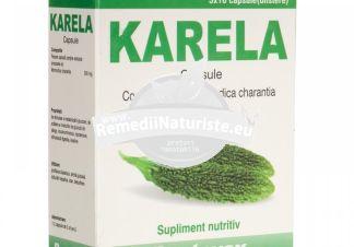 KARELA 30cps PENTAVOX SANPRODMED Tratament naturist profilaxia diabetului artrita icter artria gutoasa