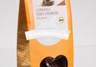 FRUCTE USCATE - CURMALE FARA SAMBURI 150g LONGEVITA Tratament naturist aliment ecologic pentru o dieta sanatoasa proprietati nutritive