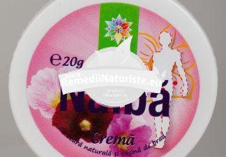 CREMA NALBA 20ml SANTO RAPHAEL Tratament naturist iritatii cutanate furuncule eczeme arsuri