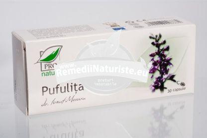 PUFULITA 30cps BLISTER MEDICA Tratament naturist hepatita cronica adenom de prostata reduce inflamatiile prostatei retentie urinara