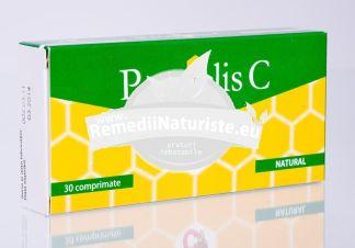 PROPOLIS C 30cps FITERMAN Tratament naturist antioxidant natural sistem imunitar rinita polipi nazali