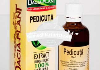 TINCTURA PEDICUTA 50ml DACIA PLANT Tratament naturist tabagism alcoolism insomnii insomnie