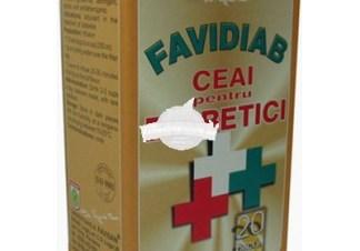 CEAI FAVIDIAB 20dz FAVISAN Tratament naturist diabet