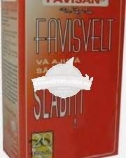 CEAI FAVISVELT 20dz FAVISAN Tratament naturist celulita slabire
