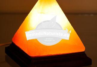 LAMPA ELECTRICA DIN CRISTALE DE SARE 4-5kg MONTE Tratament naturist tulburari de somn si concentrare in camera copilului la birou in timpul studiului