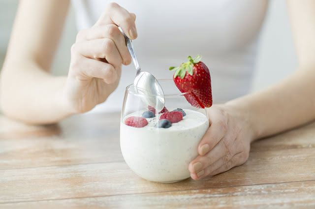 iogurte-fonte-proteina As 10 melhores fontes de proteínas