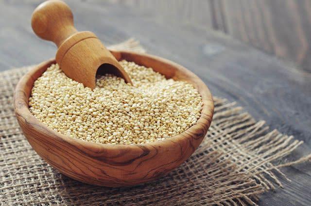 A quinoa é considerada uma proteína de origem vegetal completa