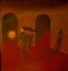 Mujer con Esfera, 1957.