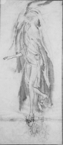 Astro Errante (Dibujo Previo), 1961.