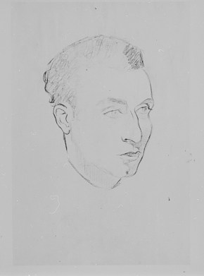 Retrato de Esteban Francés, 1943