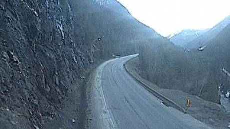 Highway1 46km East Revelstoke Looking East