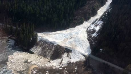 Pemberton-Lilooet avalanche