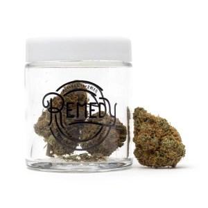 Dirk's OG in Remedy glass jar