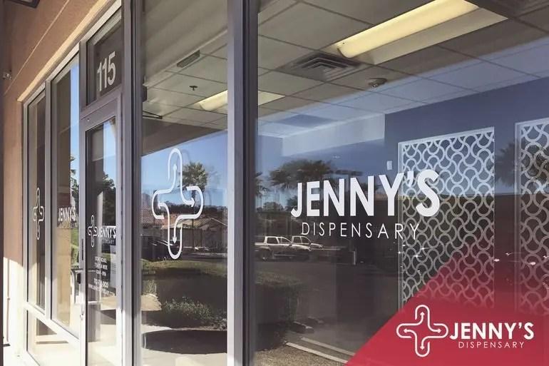 outside jenny's dispensaries